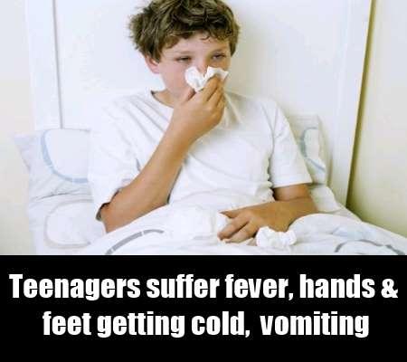 Symptoms Of Meningitis In Teenagers