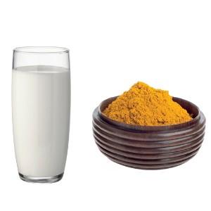 milk and  turmerics
