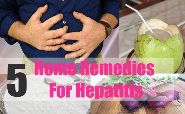 5 Home Remedies For Hepatitis