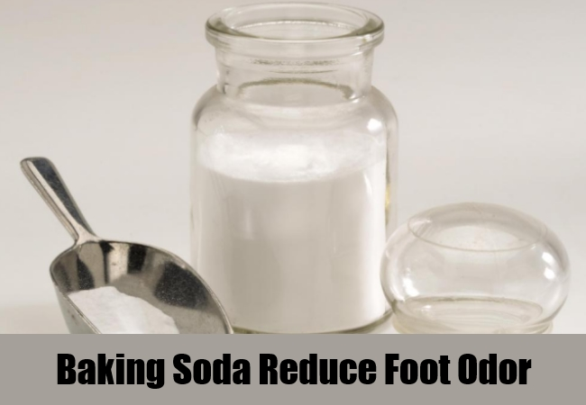 Baking Soda Reduce Foot Odor