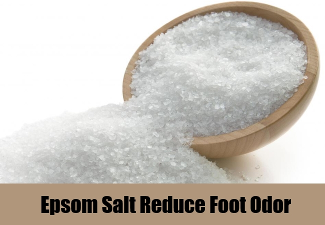 Epsom Salt Reduce Foot Odor