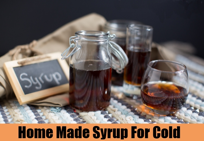 Home Made Syrup