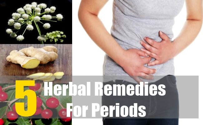 5 Herbal Remedies For Periods