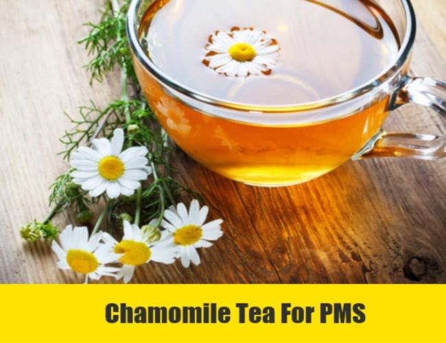 Chamomile Tea For PMS