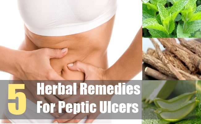 5 Herbal Remedies For Peptic Ulcers