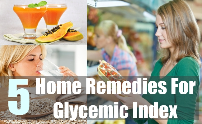 5 Home Remedies For Glycemic Index