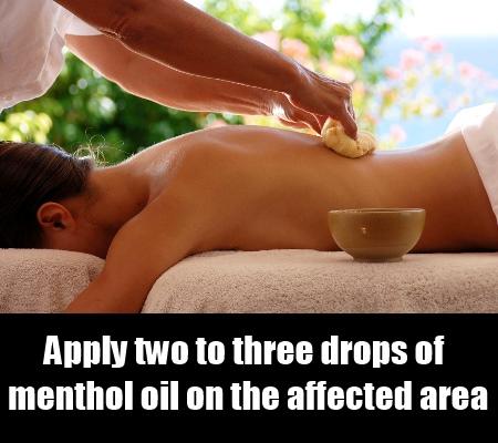 Menthol Massage