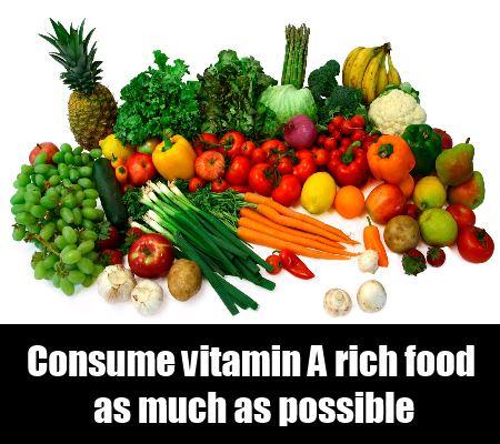 Natural Source Of Vitamin A
