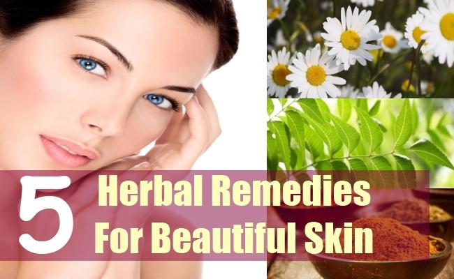 5 Herbal Remedies For Beautiful Skin