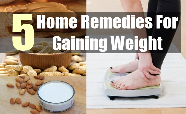 5 Home Remedies For Gaining Weight
