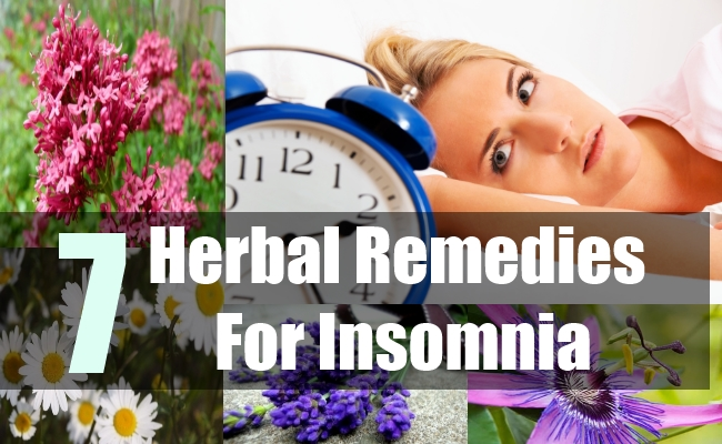 7 Herbal Remedies For Insomnia