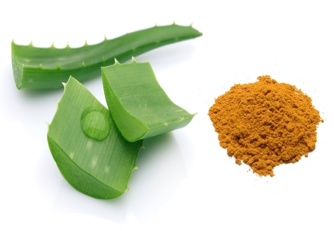 Aloevera & turmeric