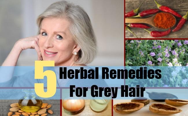 Herbal Remedies For Grey Hair