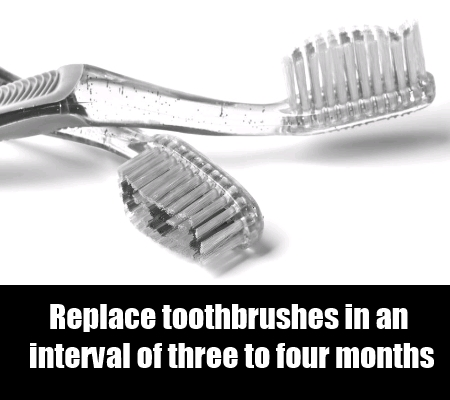 Replace Toothbrushes