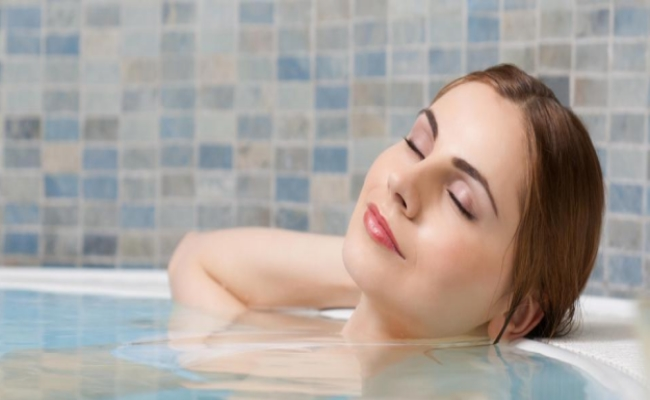 Taking A Cool Bath