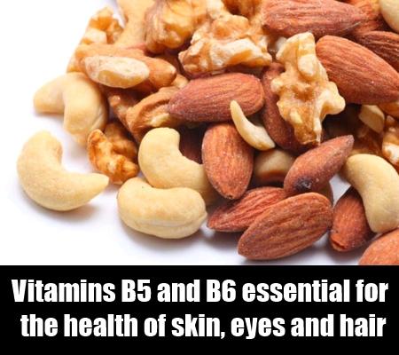 Vitamins B5 and B6