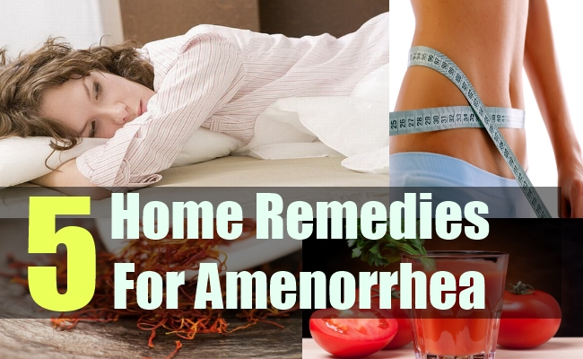 5 Home Remedies For Amenorrhea