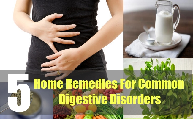 5 Home Remedies For Common Digestive Disorders