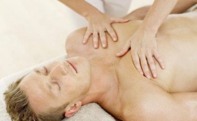 Massage With Eucalyptus Oil