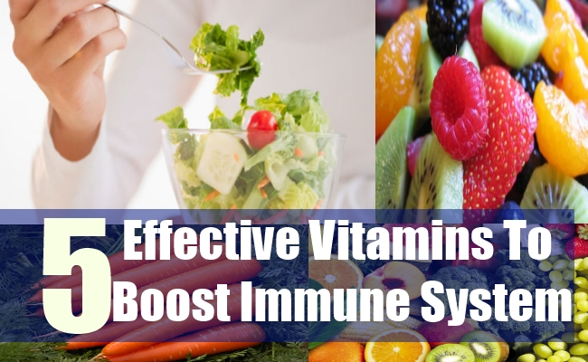 5 Effective Vitamins To Boost Immune System