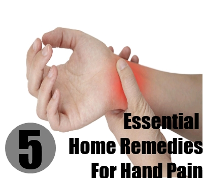 Essential Home Remedies For Hand Pain