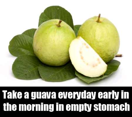 Guava In Empty Stomach