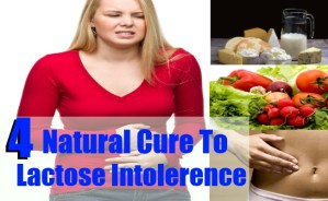 Natural Cure To Lactose Intolerence