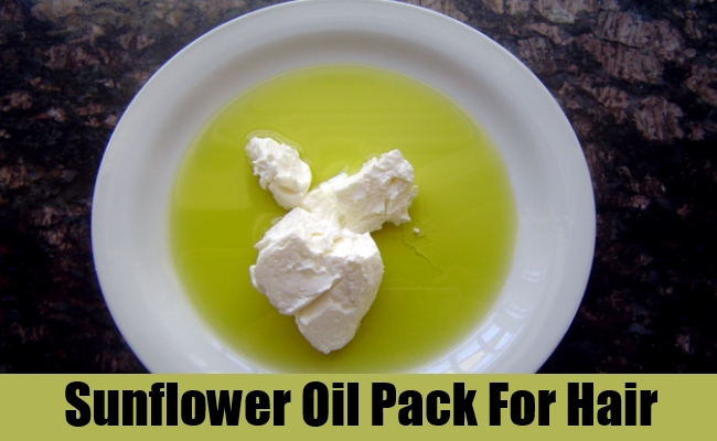 Sunflower Oil Pack