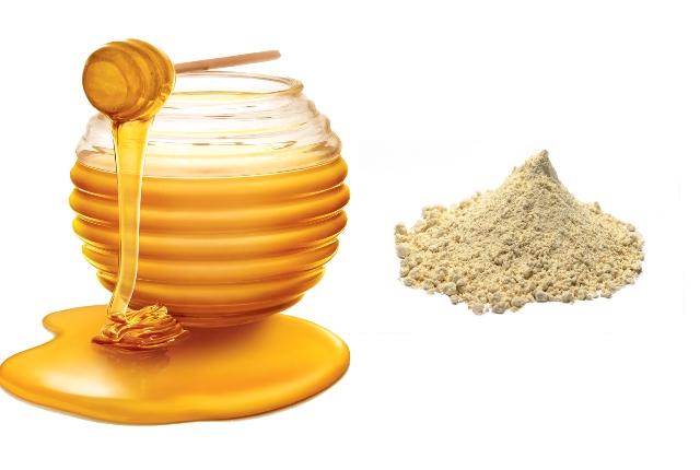 Honey With Gram Flour