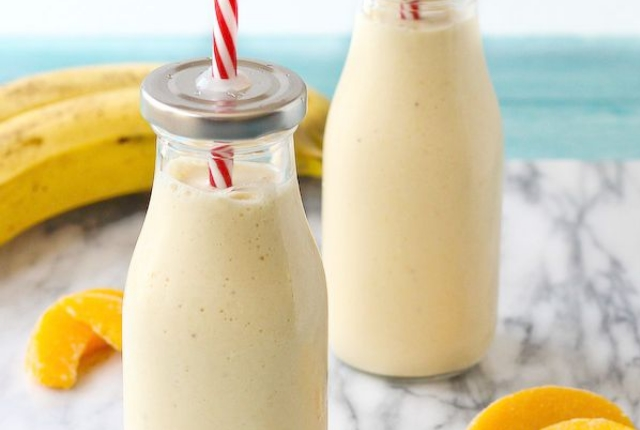 Banana And Cottage Cheese Smoothie