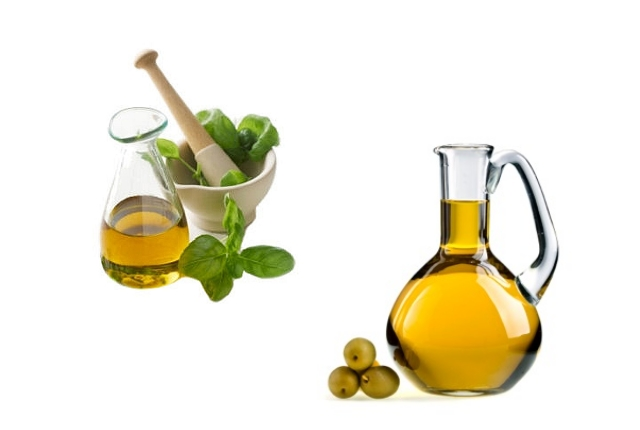 Olive Oil And Oregano Oil