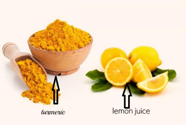 Lemon And Turmeric