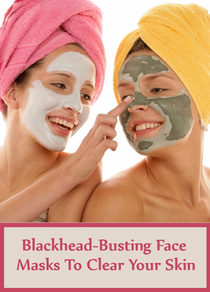 Blackhead-Busting Face Masks To Clear Your Skin