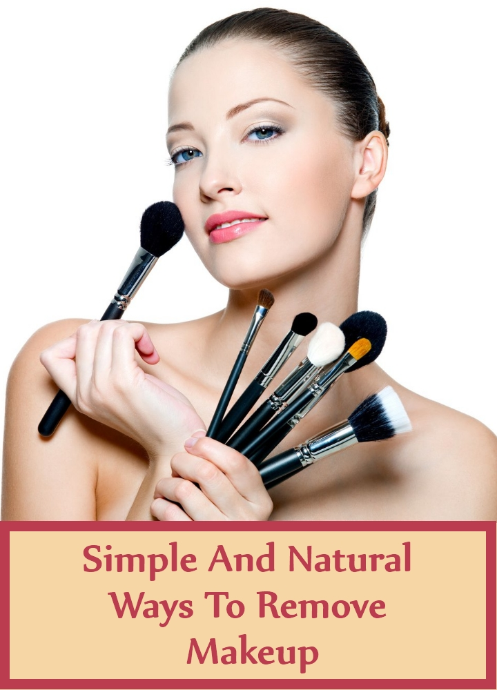 Simple And Natural Ways To Remove Makeup
