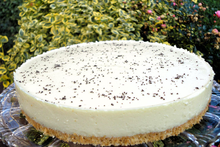Kefir Cheesecake - a tasty cake recipe for all milk kefir lovers – finished cake