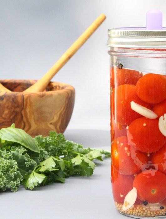 (Deutsch) Fermentierte Tomaten – einfache Anleitung zum selber fermentieren- Hauptbild