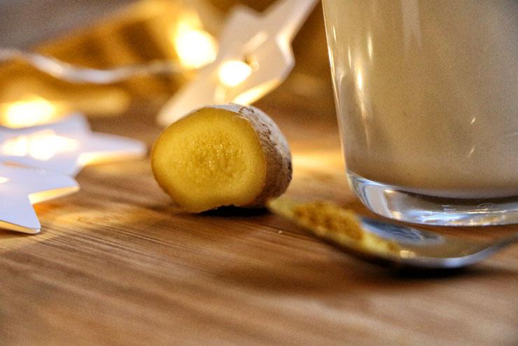 Kurkuma Latte mit Milchkefir – die goldene Milch für kalte Tage - Kurkuma