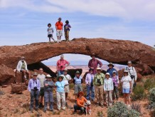 NABS members at Scorpion Arch.