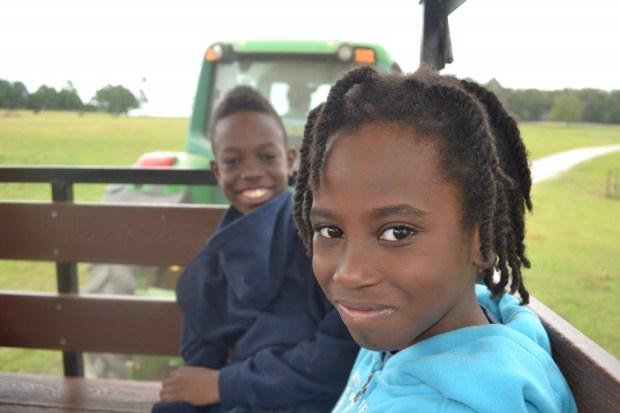 Hay Ride at Rock Ranch