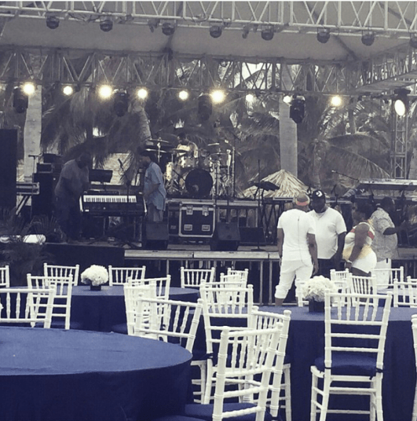Teddy Riley Sound Check In Montego Bay, Jamaica