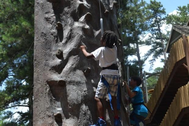 Rock Climbing, Stone Mountain Park, Naturalbabydol