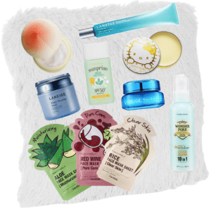 Korean Skincare products
