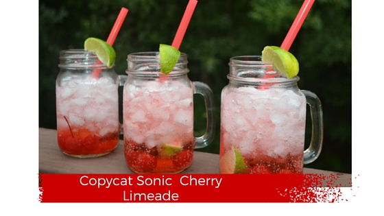 """Sonic Cherry Limeade"""