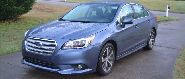 Riding Smooth In The 2015 Subaru Legacy