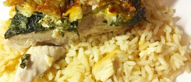 How To Make Kid-Friendly Feta Cheese & Spinach Stuffed Chicken {Recipe Included}