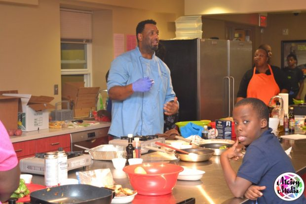 """Cooking with Choices"" ""Cooking with kids"" ""Little Chef"" ""Kid Chef"" ""Healthy Eating"" ""Naturalbabydol"" ""Herb Crusted Chicken Breast"" ""Fall Roasted Vegetables"" ""Celebrity Chef Idris"""