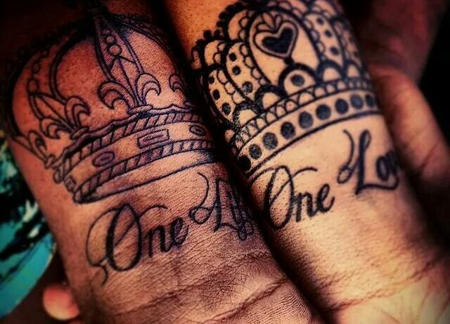 queen and king