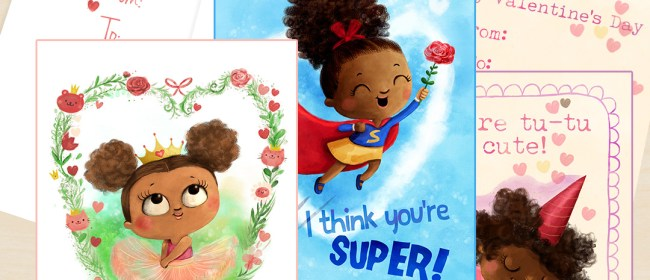 Letters From Adwoa – African American Valentine's Cards