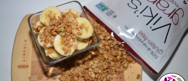 Granola Stuffed Baked Apples & Banana Parfait