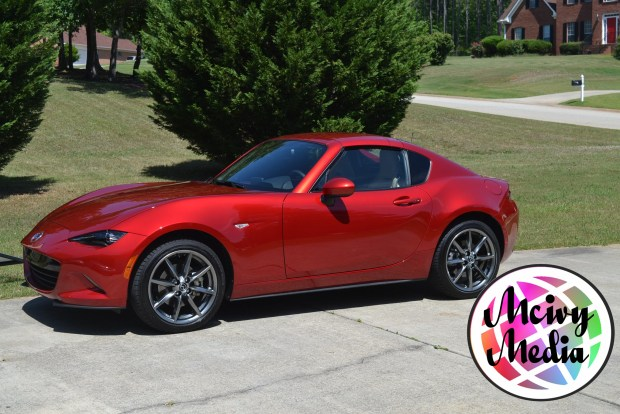 """2017 Mazda Miata MX-5 RF"" ""Sports Car"" ""Red Hot"" ""Naturalbabydol"" ""Fast Cars"" ""Fast & Furious"" ""Travel"" ""Auto Review"""